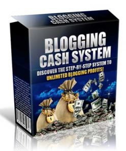 Blogging Cash System PLR Videos