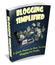 blogging-simplified-plr-ebook-cover  Blogging Simplified PLR Ebook blogging simplified plr ebook cover 190x223