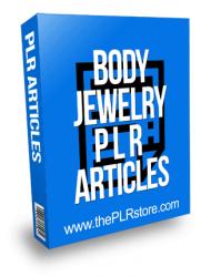 Body Jewelry PLR Articles