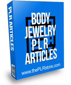 Body Jewelry PLR Articles