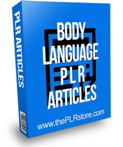Body Language PLR Articles