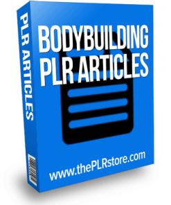 bodybuilding plr articles