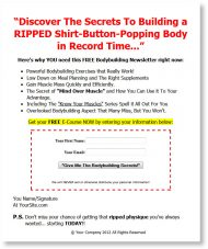 private label rights Private Label Rights and PLR Products bodybuilding plr autoresponder messages squeeze page 190x227