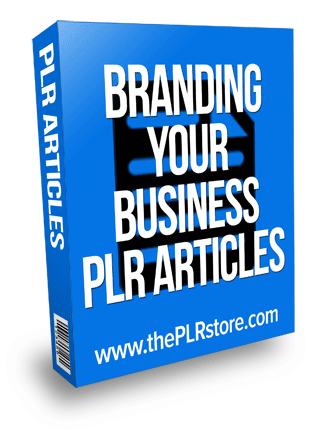 Branding your Business PLR Articles