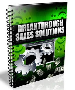 Breakthrough Sales Solutions PLR Audio