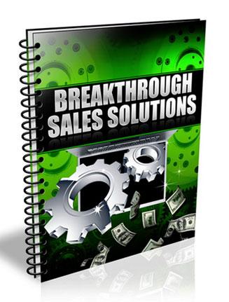 Breakthrough Sales Solutions PLR Audio