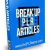 Breakup PLR Articles