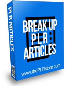 Breakup PLR Articles