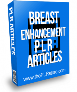 Breast Enhancement PLR Articles