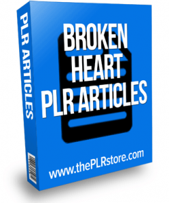 broken heart plr articles