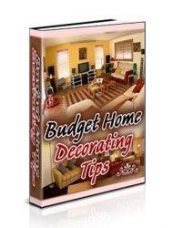 budget home decorating plr ebook