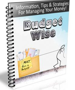 Budget Wise PLR Autoresponder Messages