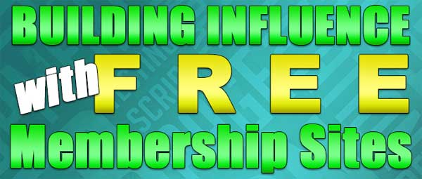 Building Influence With Free Membership Sites PLR Ebook