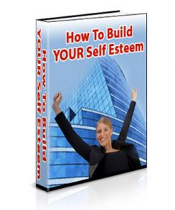 building self esteem plr ebook