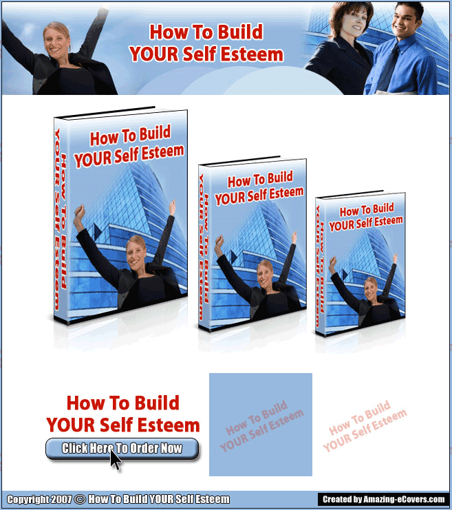 Building Self Esteem PLR Ebook With Private Label Rights