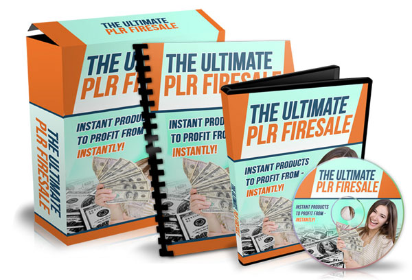 Fire Sale Ignition PLR Ebook Package