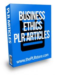 business ethics plr articles business ethics plr articles Business Ethics PLR Articles with Private Label Rights business ethics plr articles 190x250
