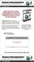 private label rights Private Label Rights and PLR Products business podcasting basics plr ar series squeeze page 139x250