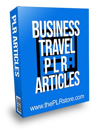 Business Travel PLR Articles