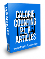 Calorie Counting PLR Articles