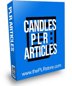 Candles PLR Articles