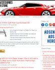 Car Accessories PLR Amazon Store Website car accessories plr amazon store website cover 110x140