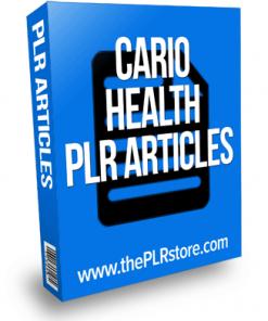 cardio health plr articles