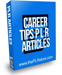 Career Tips PLR Articles