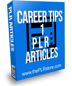 Career Tips 1 PLR Articles