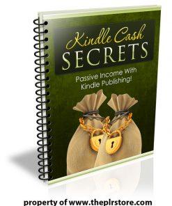 kindle cash secrets plr report
