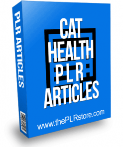 Cat Health PLR Articles