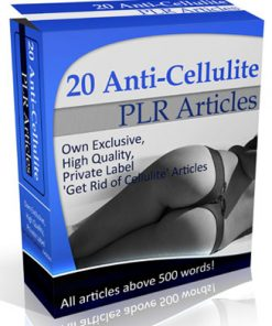 cellulite plr articles