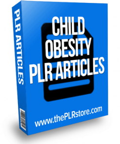 child obesity plr articles