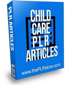 Child Care PLR Articles