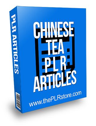 Chinese Tea PLR Articles