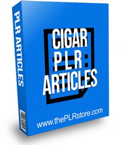 Cigar PLR Articles