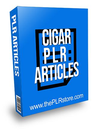 Cigar PLR Articles