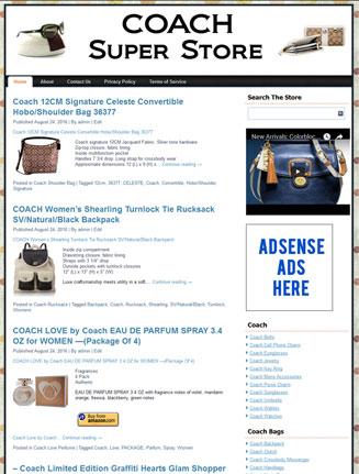 coach plr amazon store website