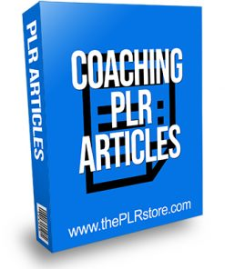 Coaching PLR Articles