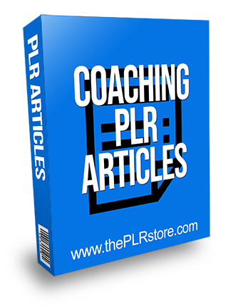 Coaching PLR Articles