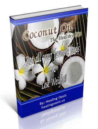 coconut oil healthy fat plr ebook