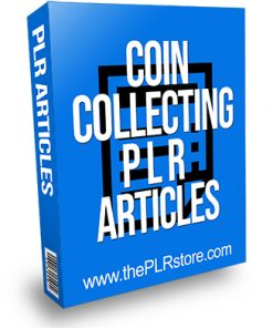 Coin Collecting PLR Articles