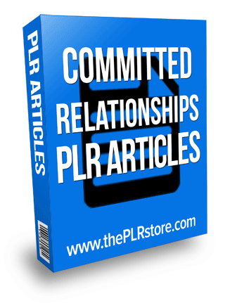 committed relationships plr articles