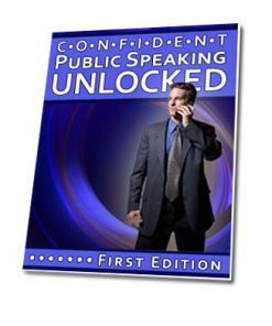 confident public speaking plr ebook