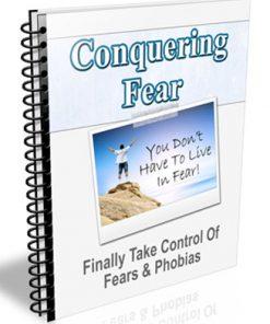 Conquering Fear PLR Autoresponder Messages