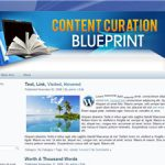 Content curation blueprint plr ebook package content malvernweather Gallery