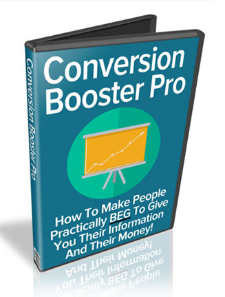 Conversion Booster Pro PLR Video with Private Label Rights