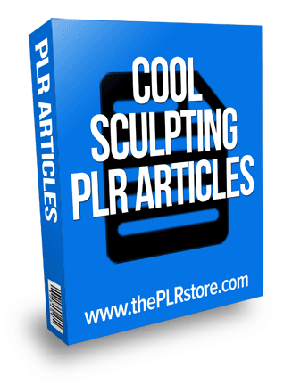 cool sculpting plr articles