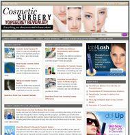 cosmetic-surgery-plr-website-main  Cosmetic Surgery PLR Website with Private Label Rights cosmetic surgery plr website main 190x197