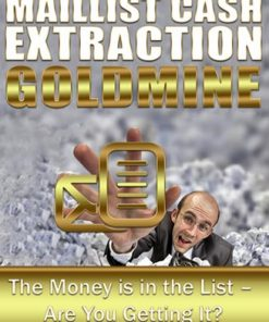 Mail List Cash Extraction Goldmine PLR Ebook